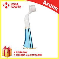 Ультразвуковая щетка для умывания и чистки лица Pobling face cleaner СИНЯЯ, фото 1