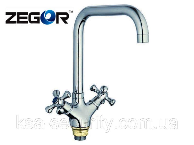 Смеситель для кухни ZEGOR DML4-C827 (TOE) (Зегор)