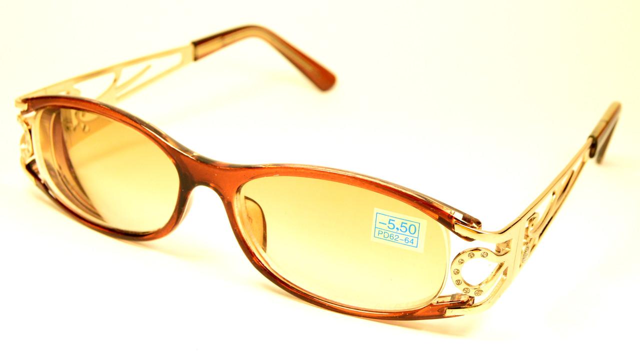 Женские очки для зрения (СМ 3184 тон кор)
