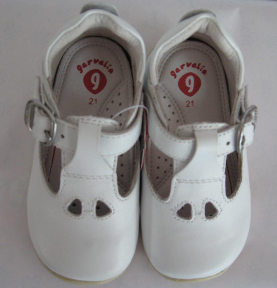 Ботинки детские Garvalin 112342  (р. 20-22) белые
