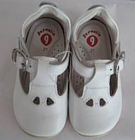 Ботинки детские Garvalin 112342  (р. 20-22) белые, фото 1