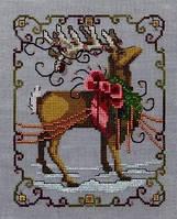 Схема для вышивки Vixen - Christmas Eve Couriers Nora Corbett Designs