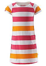 Платье для девочки Reima из материала Jersey 535022-4415. Размеры 110-146.