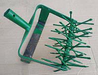 Культиватор ручной 6-ти рядный с металлическим игольчатым рыхлителем