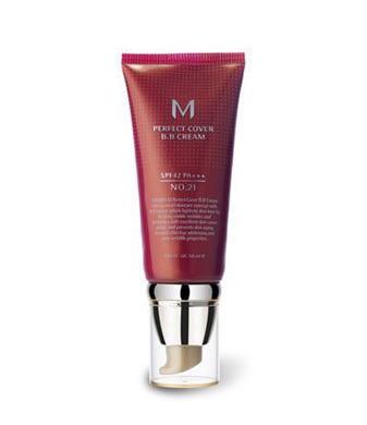Missha M Perfect Cover BB Cream №21 (Light Beige) - BB крем (светло-бежевый)