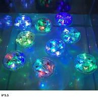 Игрушка для ванной/бассейна 211-1 LED свет кул.9*5,5 /200/(211-1)
