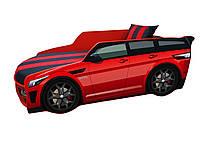 Кровать машина Премиум Land Rover красная