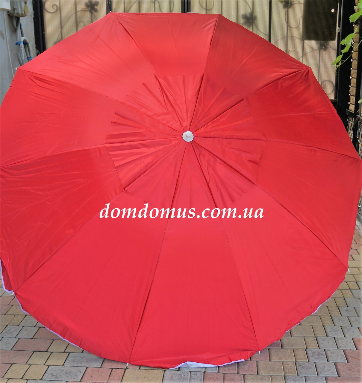 Зонтик пляжный белый 180 см, Турция