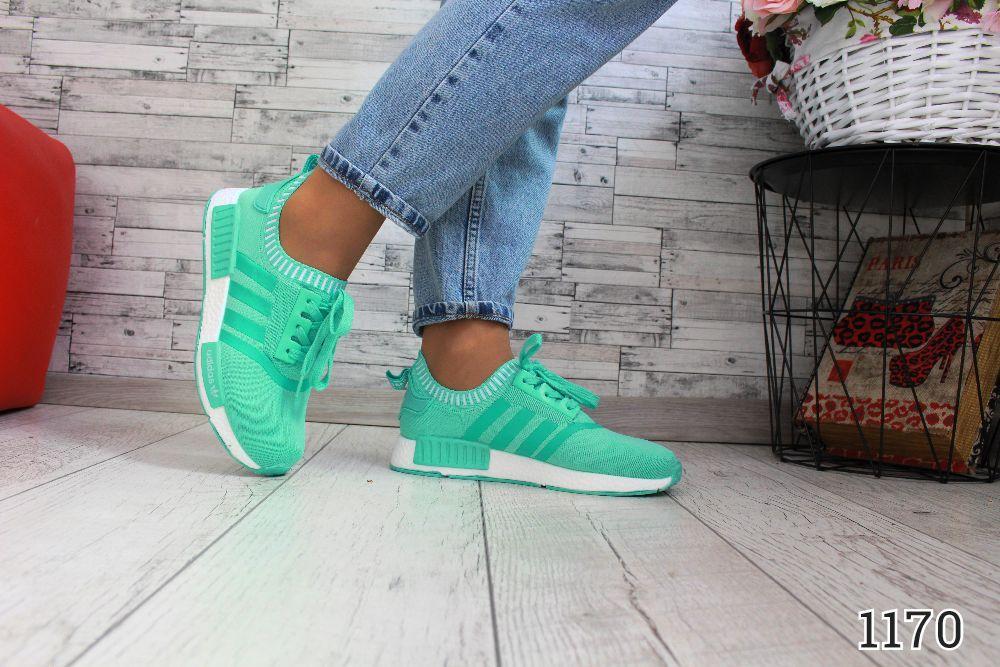 """Кроссовки под бренд """" Adidas-Stile """" Мятные."""