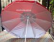 Зонтик пляжный белый 180 см, Турция, фото 2