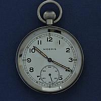 Moeris Swiss made винтажные карманные часы , фото 1