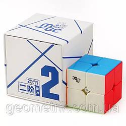 Кубик Рубіка 2х2 YJ MoYu MGC Magnetic в коробці (кольоровий) (MoYu)(магнітний, іграшки-головоломки)