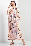 Длинное платье AJSI N в цветочный принт