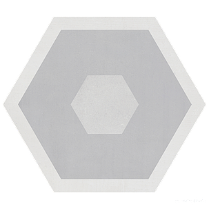 Декор Geotiles Starkhex STARKDEC GRIS, фото 2