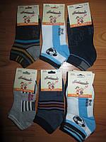 Детские короткие носки для мальчиков Modenweek оптом 19-22,23-26,27-30,31-34,35-38  рр