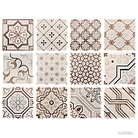 Плитка Fabresa Antic HUESO DECOR MIX 15x15 BRILLO