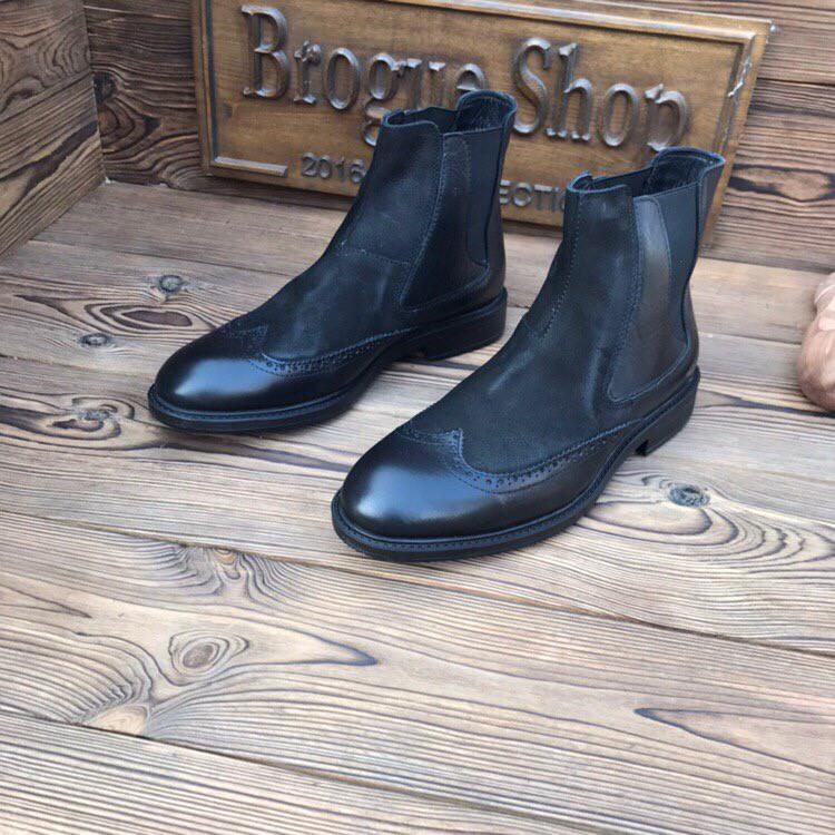 Мужские кожаные челси Luciano Bellini оригинал.