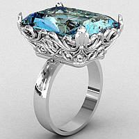Перстень  женскийсеребряный Прелесть
