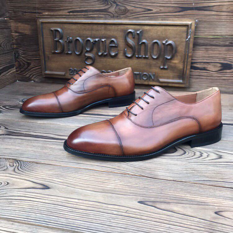 Мужские туфли оксфорды Luciano Bellini.