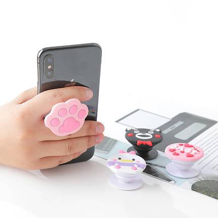 Попсокет PopSocket 3D ZucZug держатель для телефона (Серия лапки), фото 2