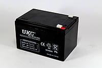 Аккумулятор 12V 12A UKC, фото 1