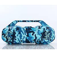 Мобильная колонка SPS DSP 1607 (Камуфляж Синий), фото 1