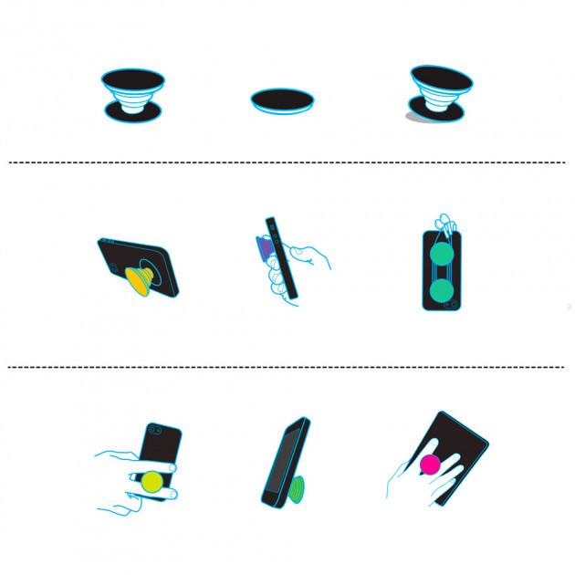 Попсокет PopSocket 3D держатель для телефона Серия мультяшных героев