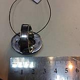 Красивое кольцо лабрадор в серебре. Кольцо овал с лабрадором 19 размер Индия!, фото 6