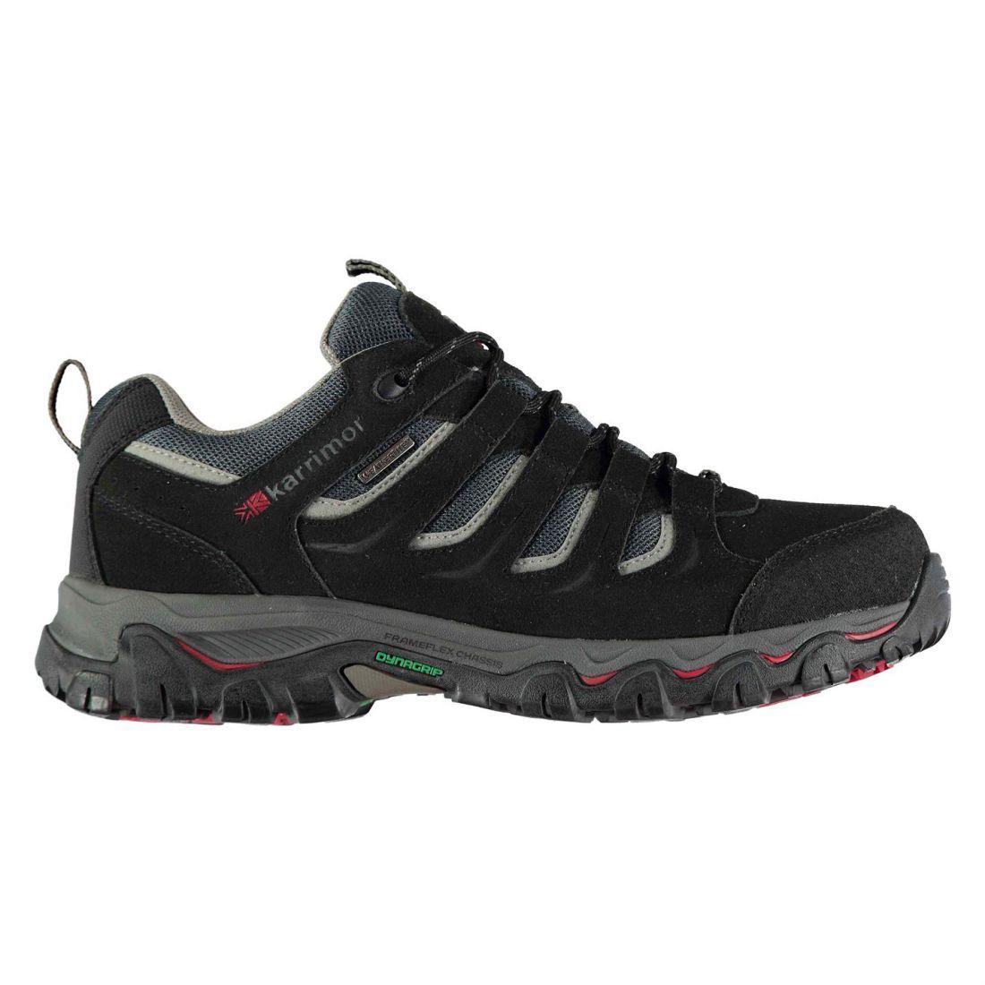 Мембранные кроссовки Karrimor Mount Low Black