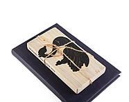 Металева закладка для книг Принцеса на лебедя (чорна), фото 7