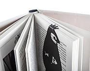 Металева закладка для книг Пінгвін (чорна), фото 3