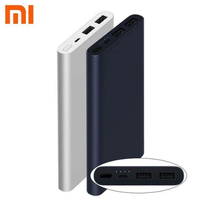 Xiaomi Mi Power Bank 2S 10000mAh with 2USB Silver (VXN4228CN) внешний портативный аккумулятор