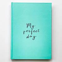 "Дневник Diary ""My perfect day"" мятный (украинский язык)"