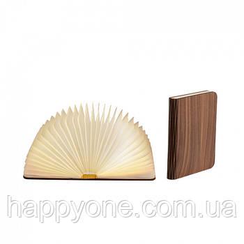 Светильник книга-лампа большой L (орех темный)