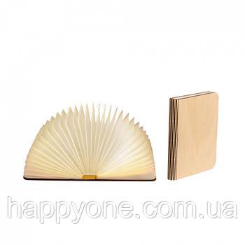 Светильник книга-лампа большой L (клен)