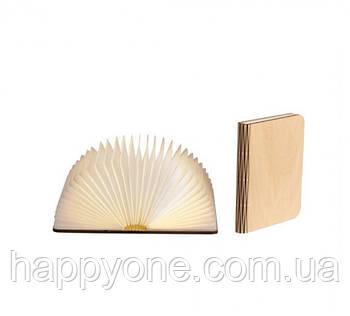 Светильник книга-лампа средний M (клен)