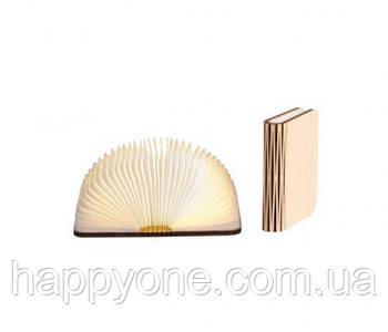 Светильник книга-лампа малый S (клен)