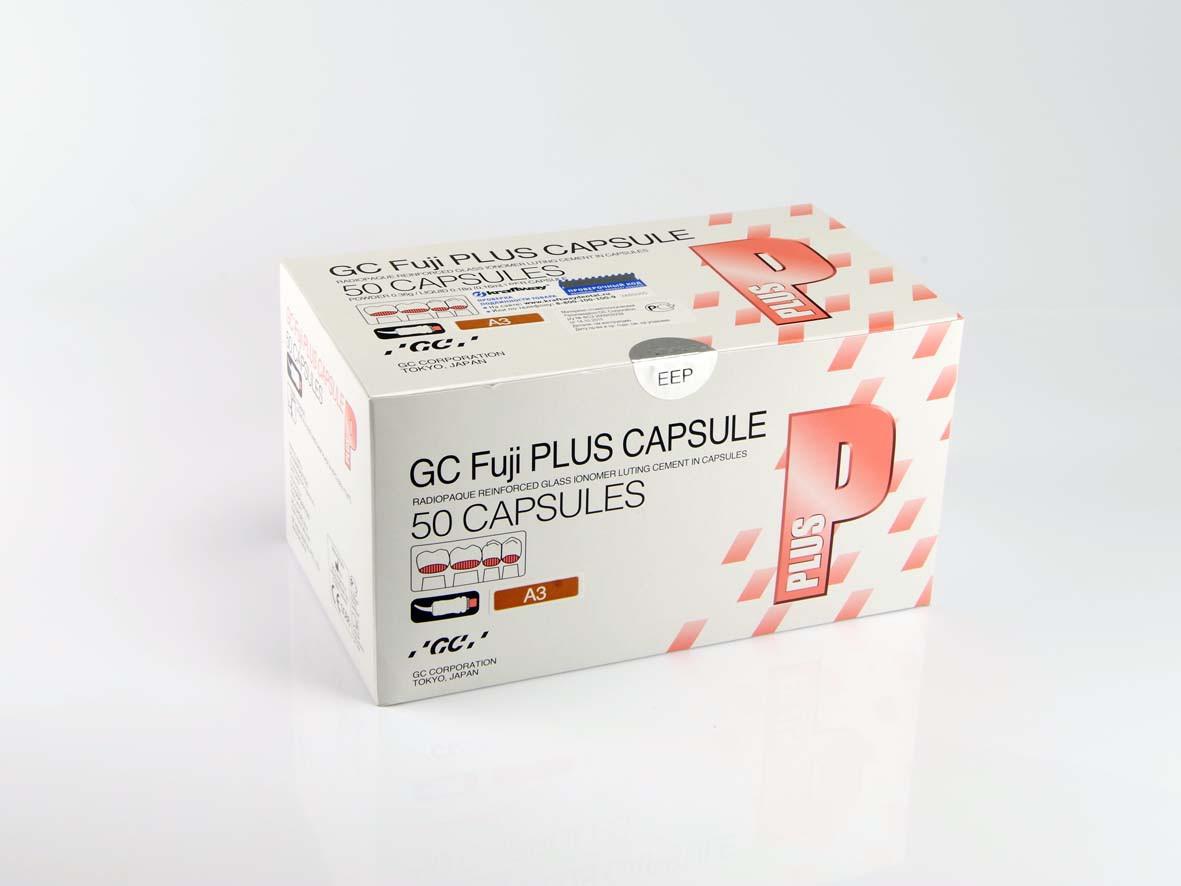 Фуджи Плюс в капсулах капсула цвет А3 Fuji Plus CAPSULES GC FUJI PLUS CAPSULES Фуджи Плюс в капсулах 50 капсул