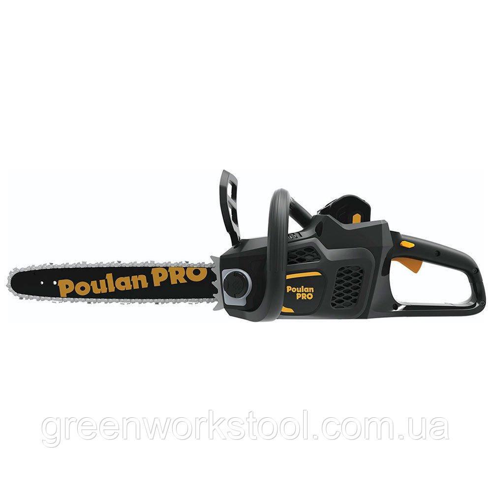 Аккумуляторная цепная пила Poulan Pro PPB4014, 40V