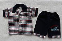 "Рубашка +шорты ""Мото""   1 год"