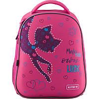 Рюкзак шкільний каркасний Kite Education Catsline K19-731M-1