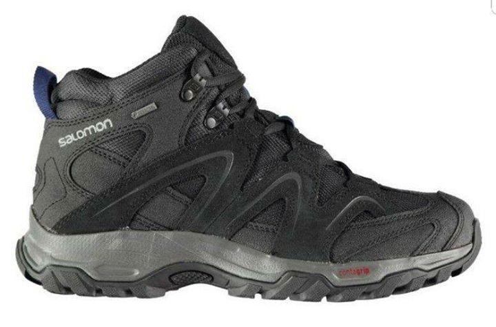 Ботинки на мембране Salomon Vandon Mid GTX Walking Phantom, фото 1