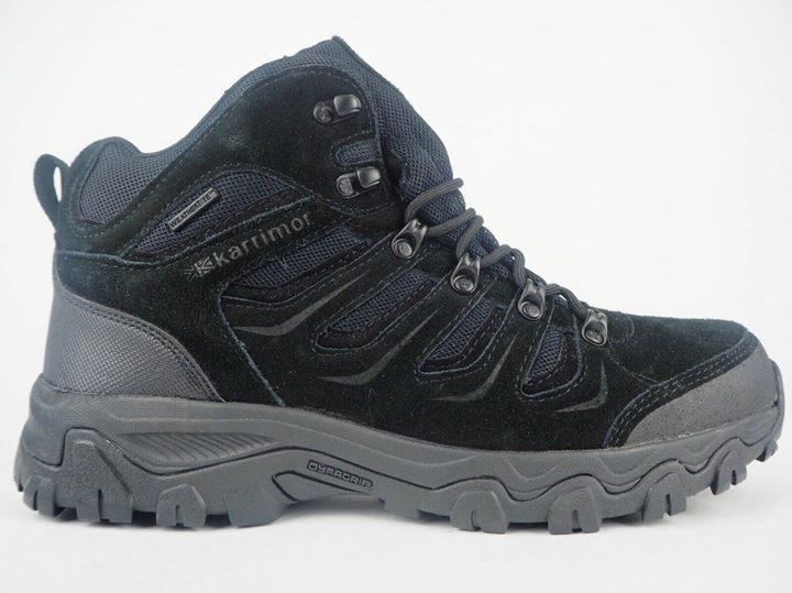 Трекинговые ботинки Karrimor Mount Mid Black 3x