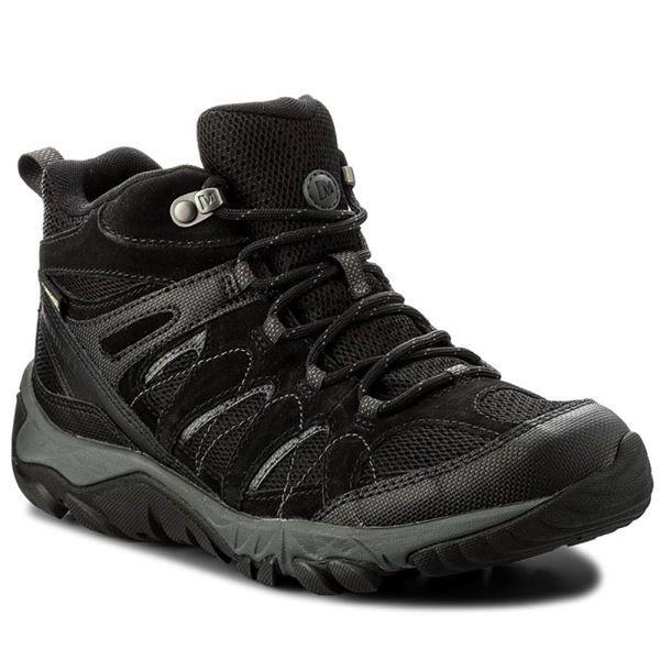 Мембранные ботинки Merrell Outmost Ventilator Mid Gore-Tex Black