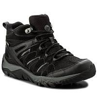 Мембранные ботинки Merrell Outmost Ventilator Mid Gore-Tex Black, фото 1