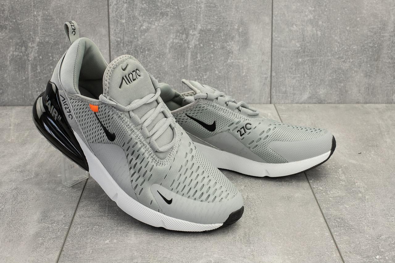 550b6f44 Кроссовки A 936 -7 (Nike Air 270) (весна/осень, мужские, текстиль, серый)