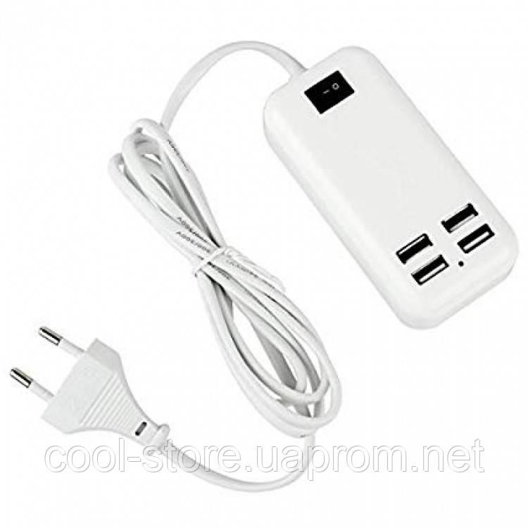 4-портовый USB разветвитель 15W USB Desktop Charger