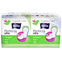 """Гігієнічні прокладки Bella Perfecta Ultra """"Green"""" (20шт.)"""