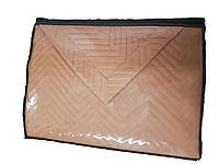 Покрывало двуспальное 230х250 Valtery софткоттон PMO-21 кирпичный