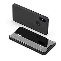 Чехол Mirror для Xiaomi Redmi Note 5 / Note 5 Pro книжка зеркальный Black